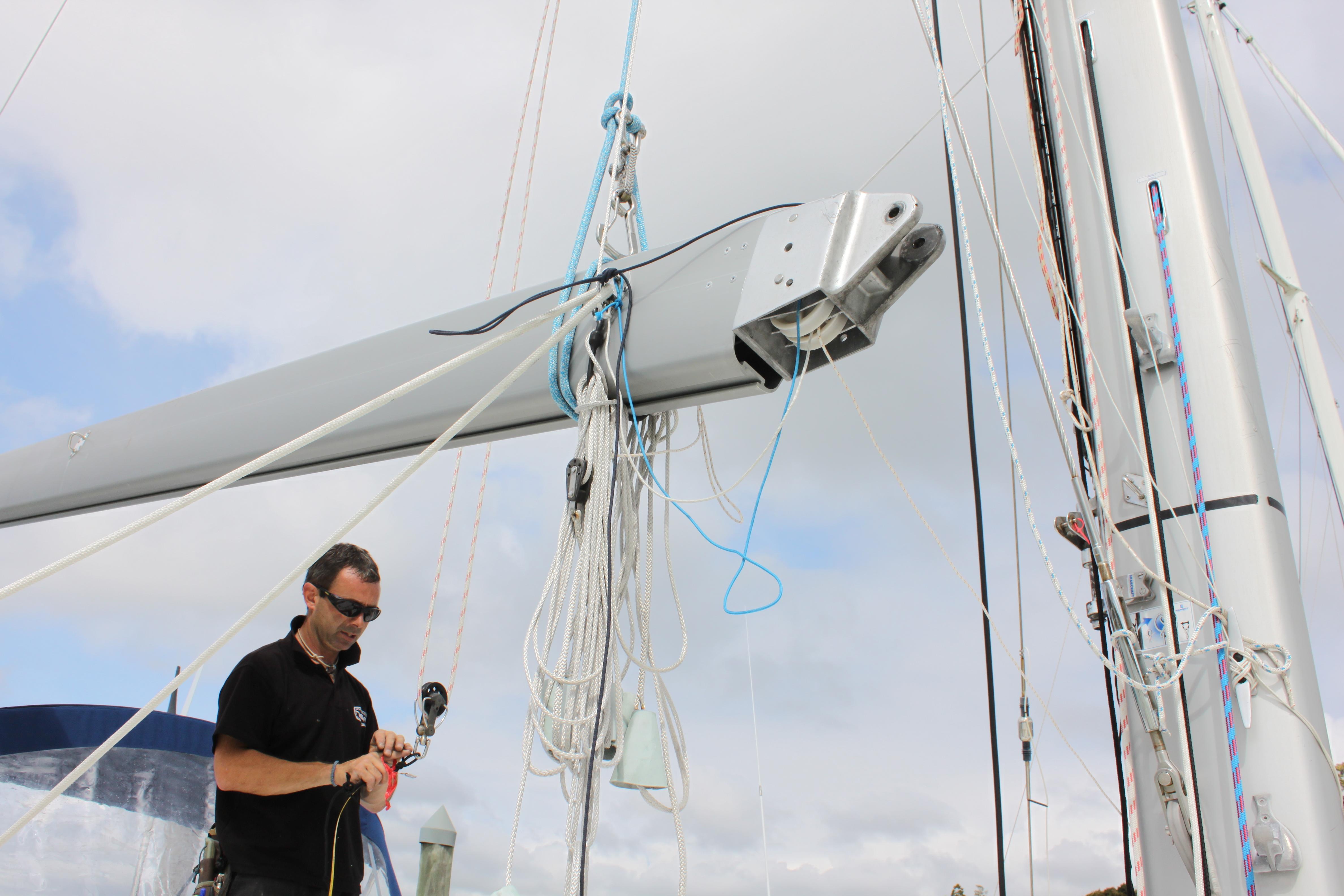 Sophie's Refit   sailing sophie
