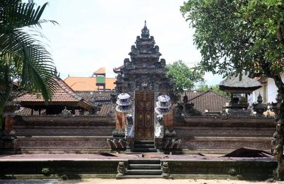 Temple in Kuta.